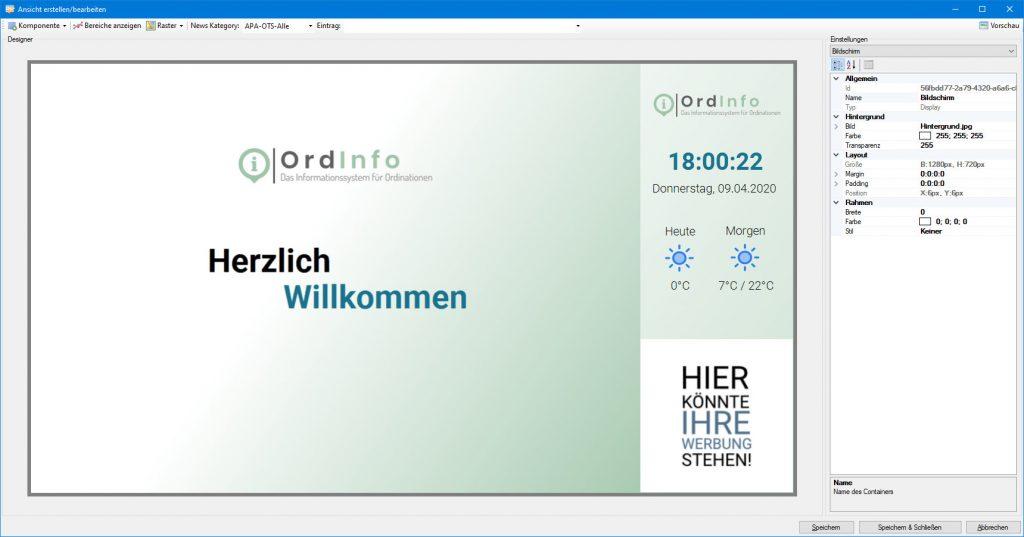 OrdInfo Designer (Layout)